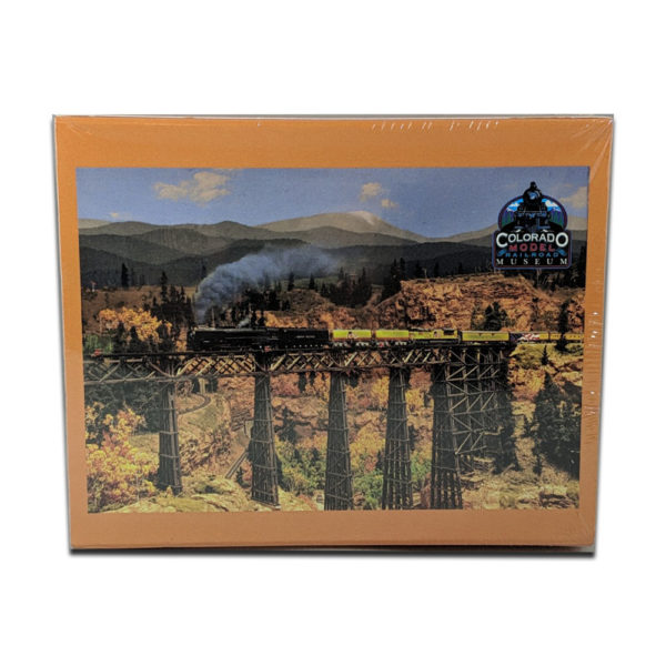 Custom Heritage Train Puzzle